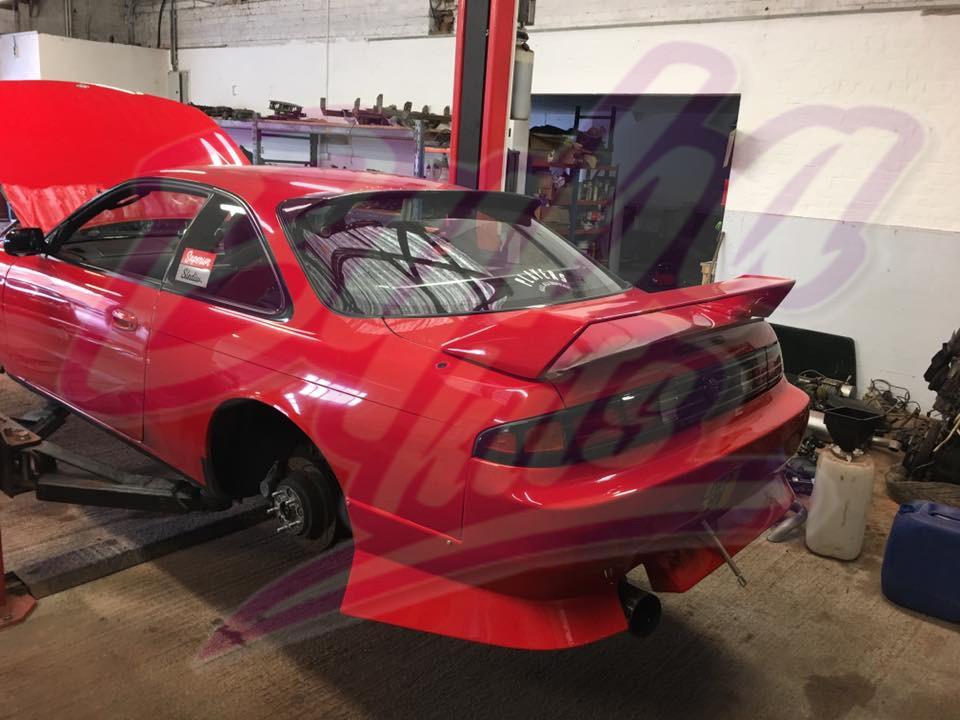 Nissan Silvia 200sx S14/S14a Kouki Rear Wing Spoiler ...