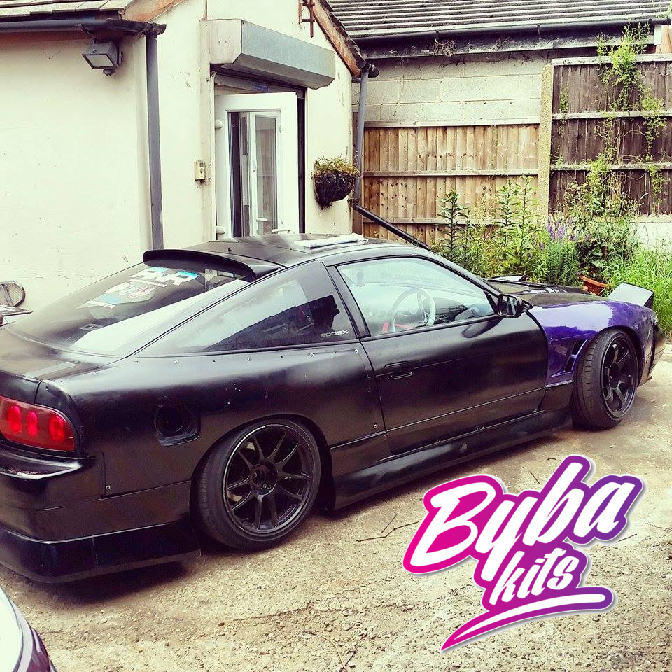 Nissan 200sx S13 326 Power Style Roof Spoiler Bybakits Co Uk